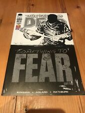 The Walking Dead Issue #100 Black & White Variant Death Of Glenn Image Comics NM