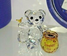 SWAROVSKI KRIS BÄR BEAR SÜSS WIE HONIG SWEET AS HONEY 5491970 NEU