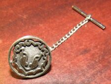 Vintage Beaver or Gopher 92.5% Sterling Silver Tie Tack Pin Clasp - 2.5 grams #3