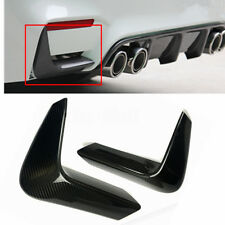 For 2015-18 BMW F80 M3 F82 F83 M4 Carbon Fiber Rear Bumper Splitter Corner