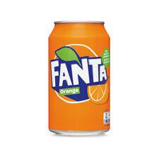72 blikken Fanta Orange ( 72 x 0,33liter cans)