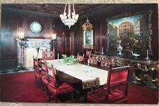 Vintage Postcard Ringling Residence Sarasota Florida, State Dining