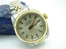 Armbanduhren mit Edelstahl-Armband aus Massivgold für Damen