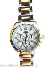 BUFFALO Armbanduhr Zifferblatt in Perlmutt & Swarovski Kristalle Uhr NEU