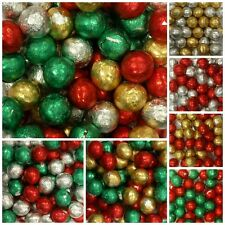Christmas Mix FOIL BALLS Wrapped Milk Chocolate Quality  Party Table Favours