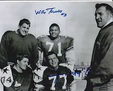 "Dual Signed by Jim ""Rocky"" Colvin and Willie Townes 8 x 10 Photo"