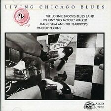 Vol. 2-Living Chicago Blues - Living Chic (1991, CD NUEVO) Brooks/Walker/Perkins