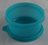 Tupperware B 15 Julchen 200 ml Dose Behälter Box mit Deckel Türkis Neu