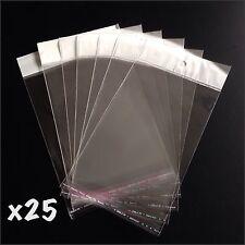 25 x Self Adhesive Retail Display Bags