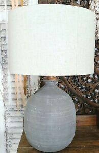 Hearth & Hand Magnolia Gray Resin Table Lamp NWT