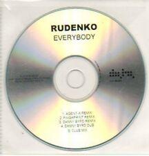 (607K) Rudenko, Everybody - 5 tracks - DJ CD