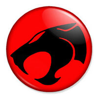 "Thundercats Logo 25mm 1"" Pin Badge Button Retro Vintage Insignia"