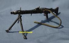 DRAGON 1:6 Scale Action Figure WW2 GERMAN ARMY MG-42 MACHINE GUN + BULLET MG42