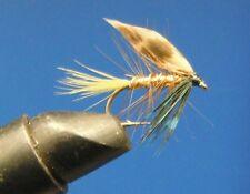 Ten Wet Flies - Invicta Gold size 10