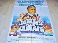 james bond 007  JAMAIS PLUS JAMAIS ! sean connery affiche cinema