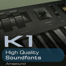 KAWAI K1 + K1II SOUNDFONT COLLECTION 128 SF2 FILES 1024 SAMPLES MAC PC LOGIC FL