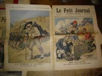 1896 Caricature politique Egypte , Afrique par H Meyer