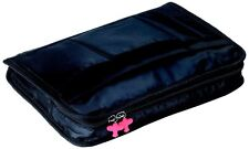 Troika iPACK iPAD sleeve and accessory pocket w/ storage,keyring BLACK IPC80/BK