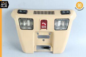 99-02 Mercedes R129 SL500 SL600 Overhead Dome Light Lamp Beige w/SOS OEM