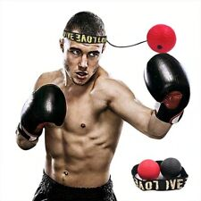 Boxing Reflex Speed Punch Fight Ball Headband Mma Sanda Muay Thai Hand-Eye Train