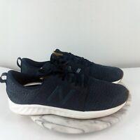 New Balance Fresh Foam Cruz Mens Size 11 Navy Mesh Lace Up Comfort Running Shoes