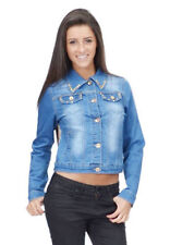 Cotton Blend Spring Casual Coats & Jackets for Women