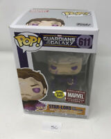 Funko Pop! StarLord With Power Stone Marvel Collectors Corps GITD +Protector P50