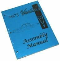 1971 72 73 74 Ventura GTO Factory Assembly Manual Book HIGH QUALITY