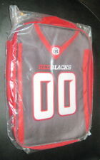 Ottawa RedBlacks CFL Football Canada Food Jersey Lunch Bag New Sealed