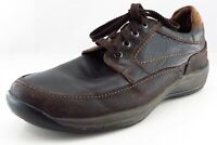 Stonefly Derby Oxfords Brown Leather Men Shoes Size 7.5 Medium (D, M)