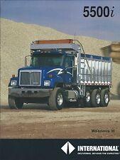 Truck Brochure - International - 5500i - Dump - Mid-America 1999 (T1850)