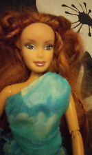 Flava Red Head Doll Pivot Body