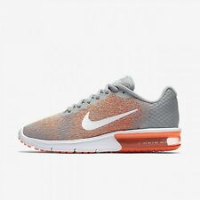 Nike Aix Max Sequent 2 Wolf Gris Baskets-Femme UK 5