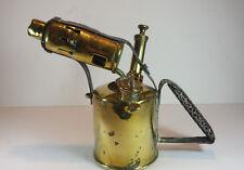 BRITISH MONITOR OPTIMUS BRASS BLOW LAMP NO 26
