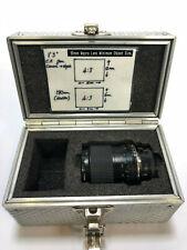 Tamron 90mm Macro Objectif Converti pour B4/1.7cm Support - Vol en Étui