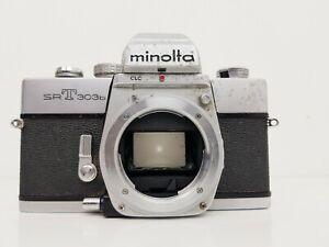 Vintage MINOLTA SRT303b SLR Camera, Body Only