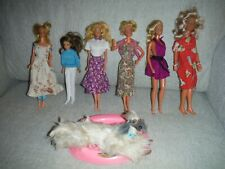 Used mixed lots Barbie & misc. dolls misc clothes & accessories/McDonald's dine