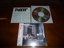 Ratt / Invasion Of Your Privacy JAPAN 32XD-309 1ST PRESS!!!!! *P