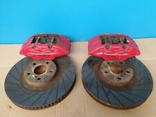 TOYOTA CELICA GT-4 ST205 4 POT BRAKE CALIPERS DISKS FRONT PAIR
