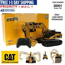 1/20 CAT CATERPILLAR 330D L RADIO CONTROLLED RC EXCAVATOR DIECAST MASTERS 28001