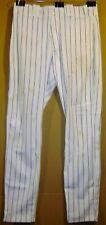 CHICAGO CUBS COREY MILLER 1999 WHITE PINSTRIPE GAME PANTS
