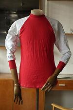 Kristall Kotaura HERRENSPIELERHEMD DDR 85 Trikot rot weiß Shirt True Vintage 80s