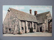 R&L Postcard: Thomas Becket's Palace Tarring, 1917