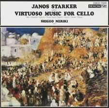 JANOS STARKER-FAVOURITE CELLO PIECES-JAPAN CD B63