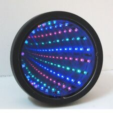 Sensory Toy LED Lights Lamp Multicolour Calming Autism Mirror Tunnel Relax Wall