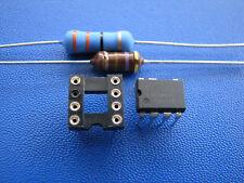 LNK304PN + Widerstand 33 Ohm 3W + HF Drossel 470µH + Sockel für AEG und andere