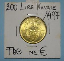 200 LIRE  1997 ACC NAVALE  FDC (2) DA ROTOLINO SIGILLATA OBLO' COMPRA SUBITO