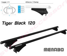 Barre Portatutto Portapacchi SEAT ALTEA XL 2009>2018 TIGER BLACK 120 Menabo