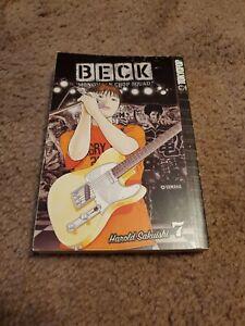 Beck Mongolian Chop Squad 7 Manga Graphic Novel English Tokyopop Music Comedy