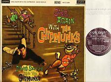 DAVID SEVILLE sing again with the chipmunks HA-G 2268 mono uk london 1960 LP EX